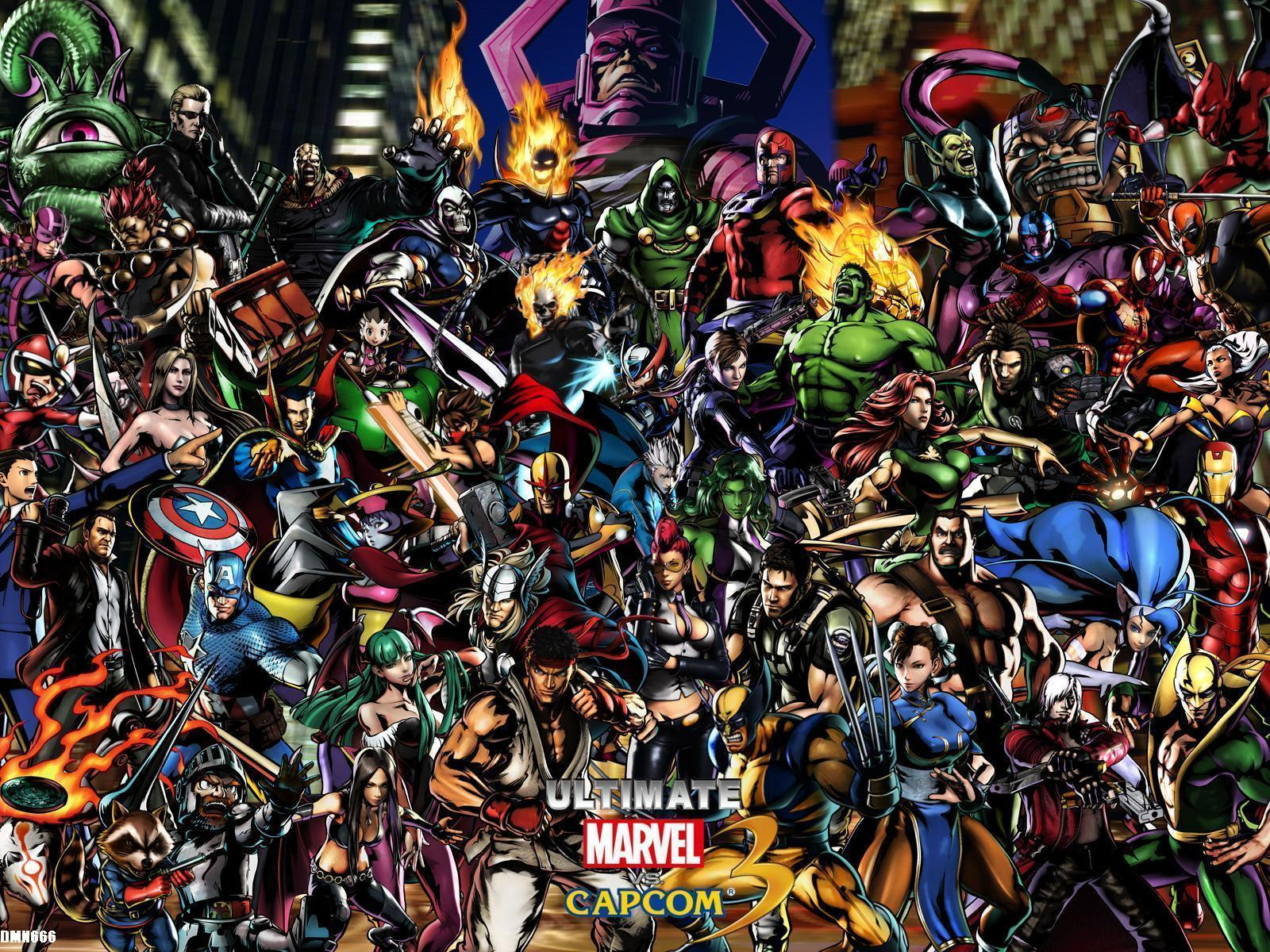 DeviantArt: More Like UMvC3 Ultimate Marvel Vs Capcom 3 Wallpapers