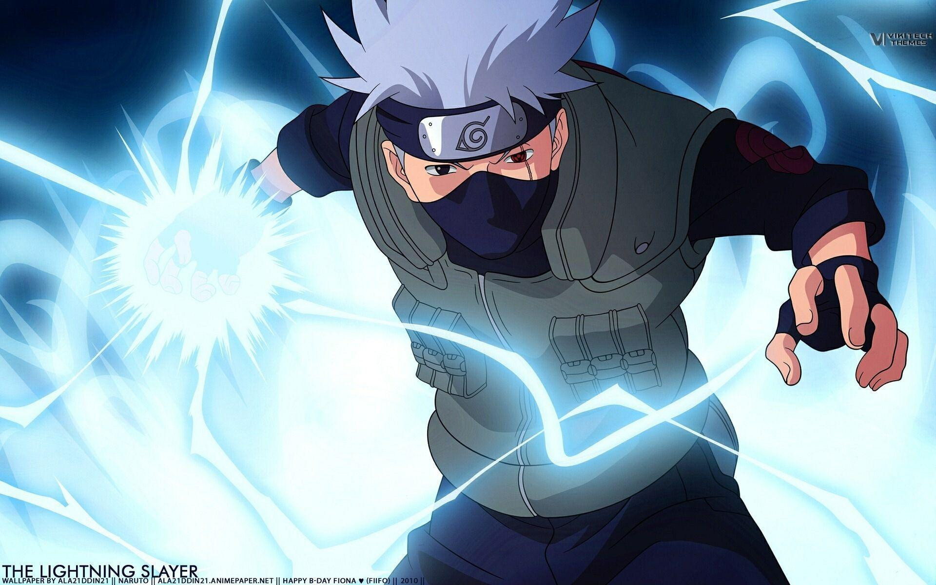 Kakashi Chidori Wallpapers Wallpaper Cave