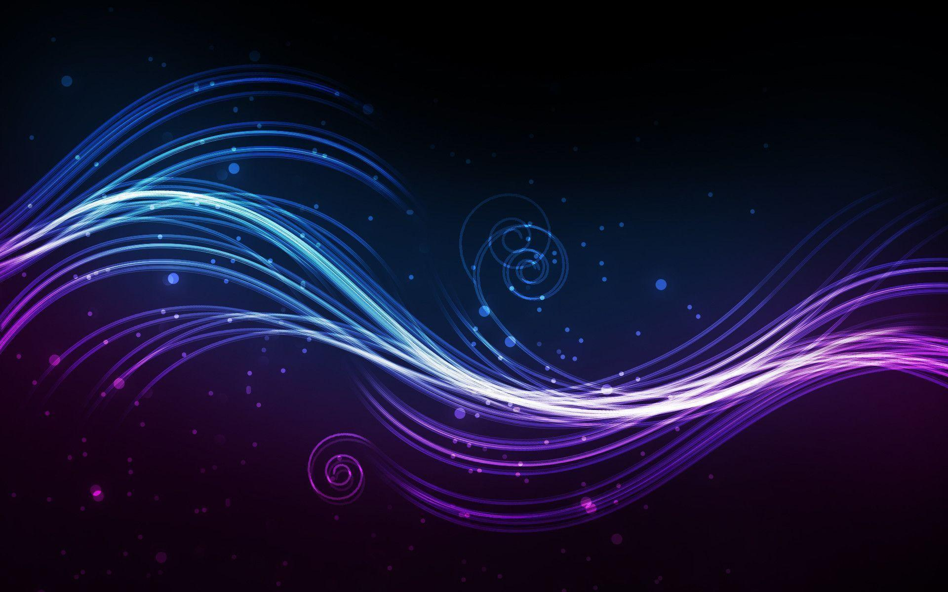 Black And Purple Abstract Widescreen Hd Wallpaper 512: Black And Blue Abstract Wallpapers
