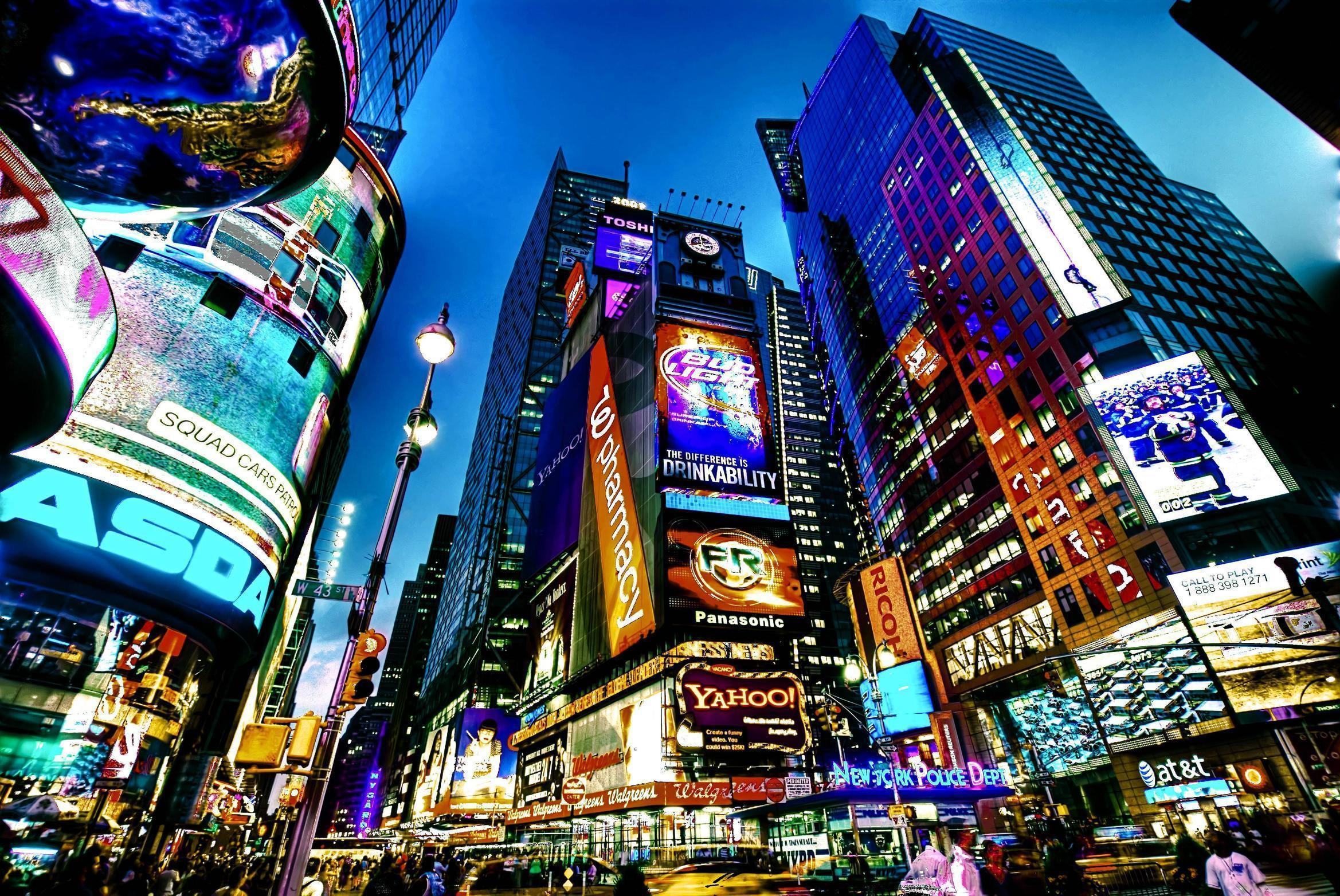 times square new york city cities wallpapers