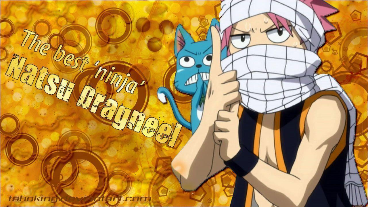 Wallpapers For Fairy Tail Natsu And Happy Wallpaper