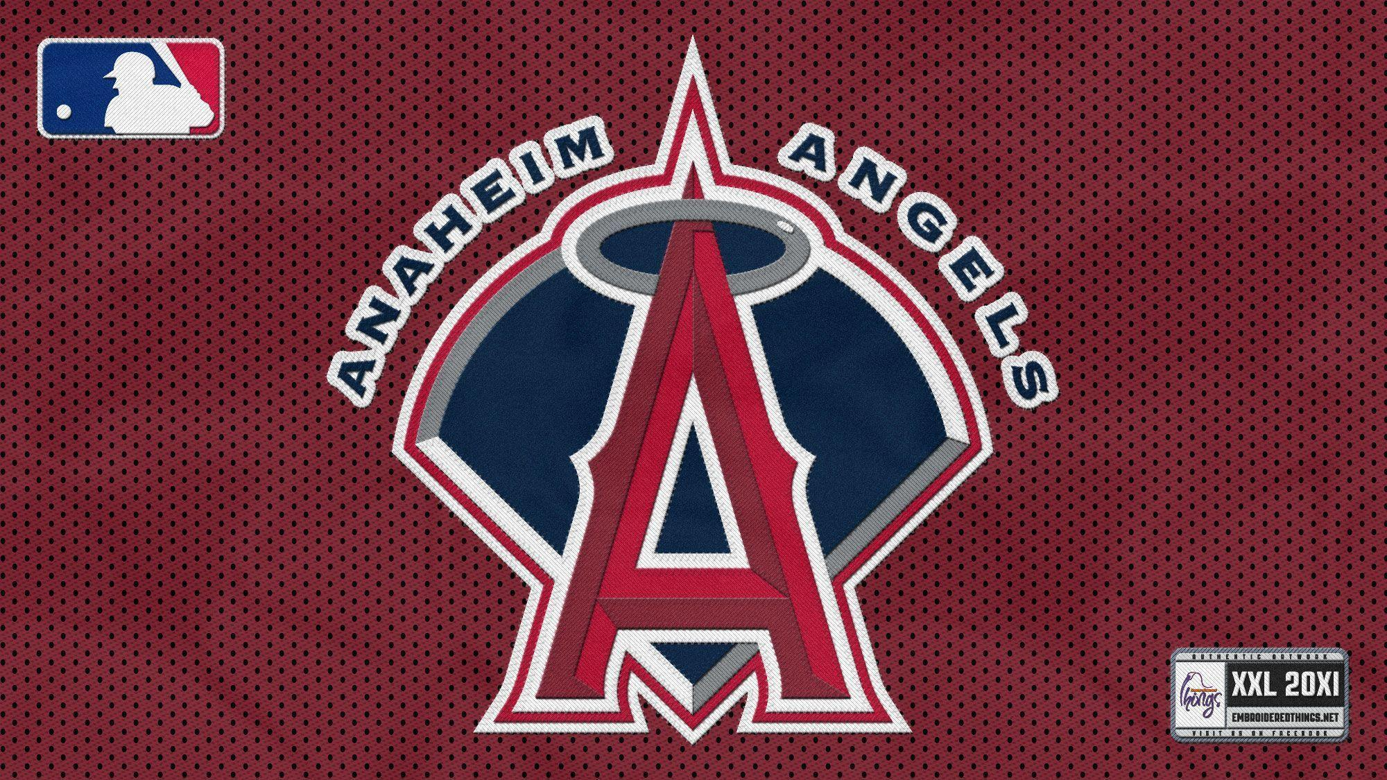 Cached Angels baseball logo images