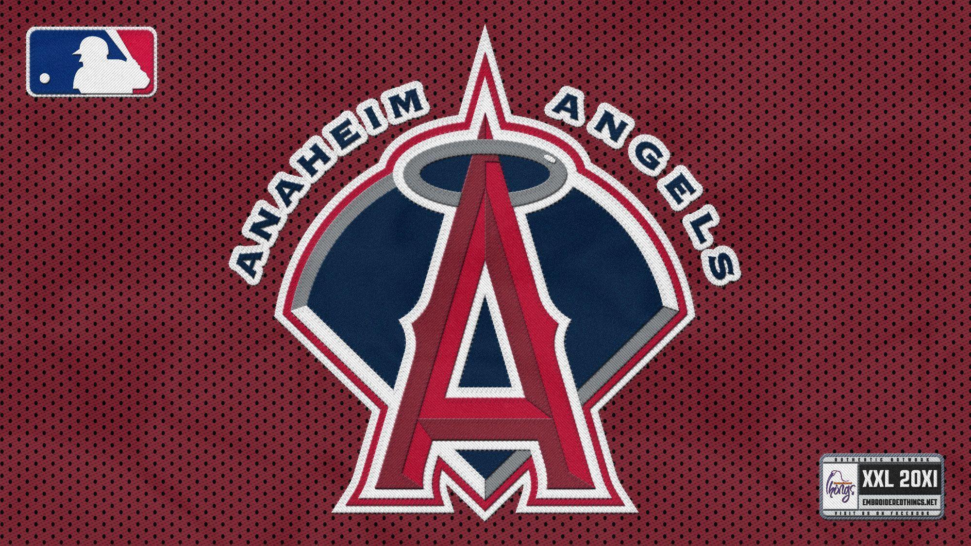 Cached Angels baseball logo images