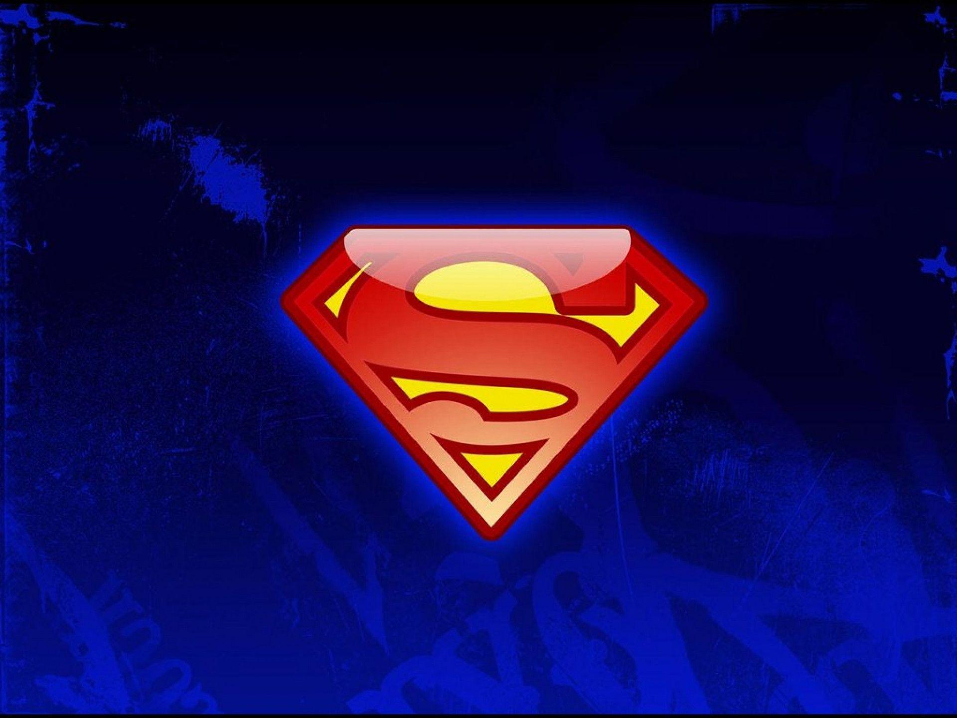 My Free Wallpapers Comics Wallpaper Superman Logo