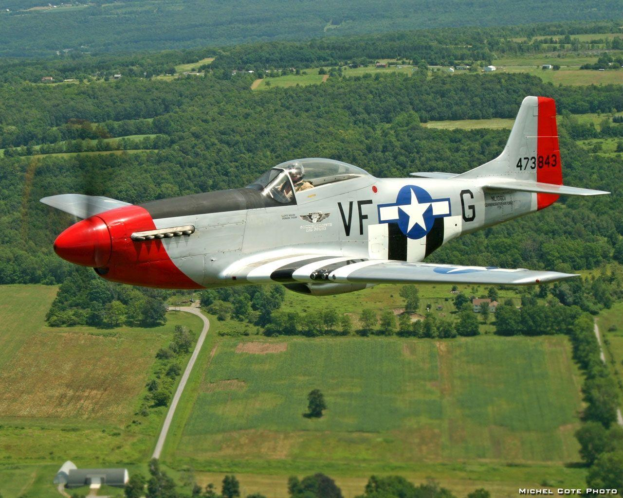 P-51 Mustang : Desktop and mobile wallpaper : Wallippo