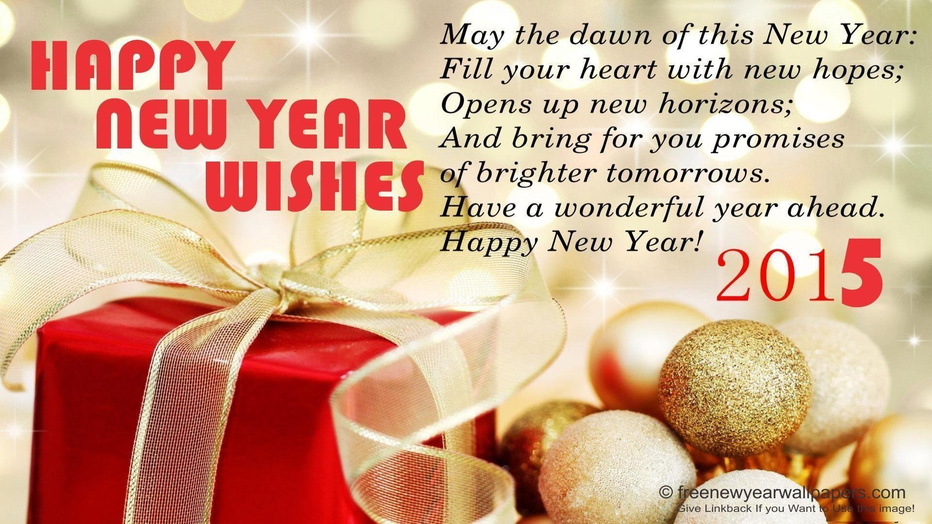 New Year Wishes 2015 Wallpapers Hd Wallpaper Cave
