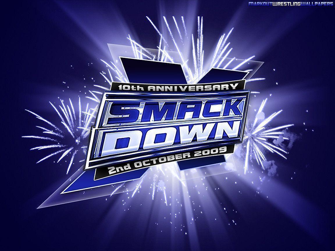 WWE Smackdown 10th Anniversary Wallpaper