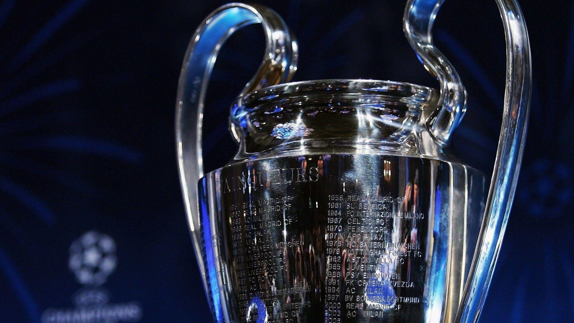 UEFA Champions League trophy Wallpaper | warnerboutique