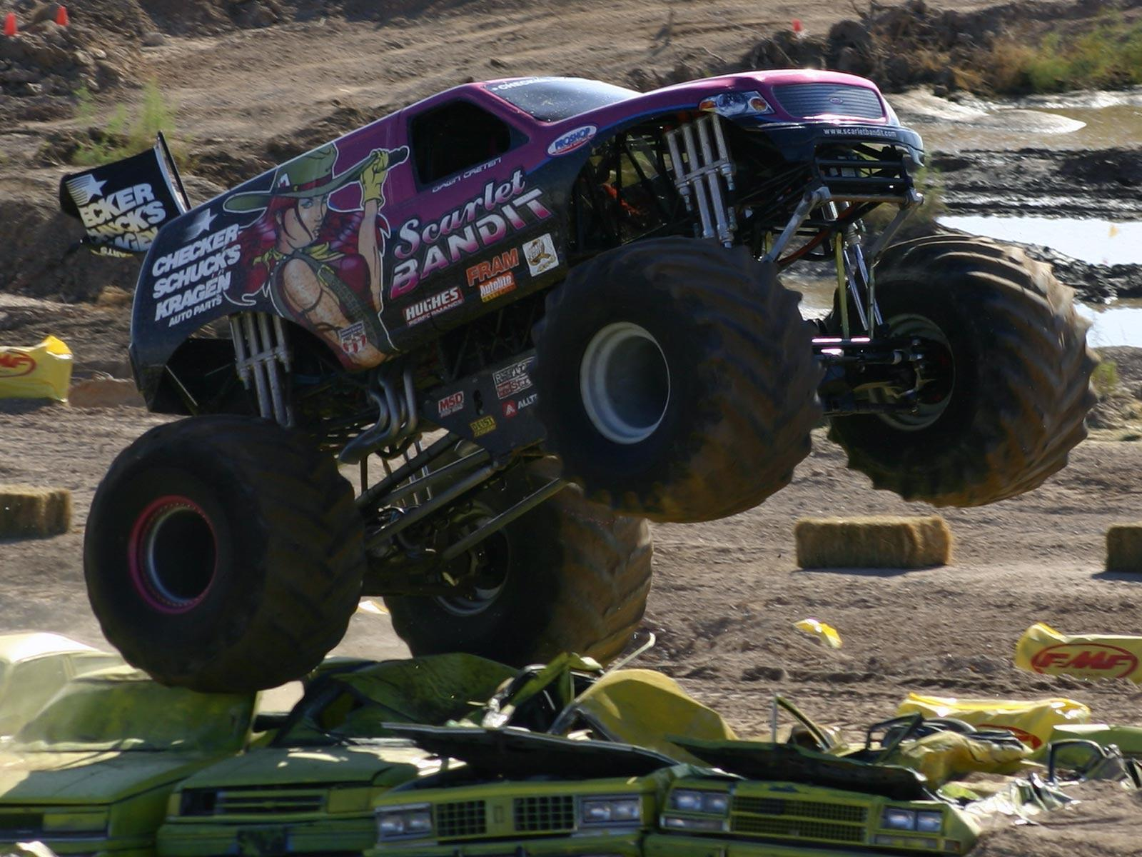 monster truck backgrounds wallpaper cave