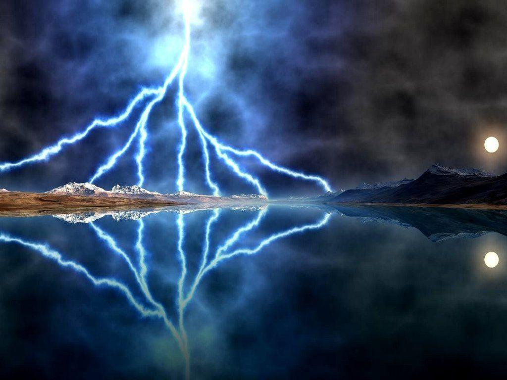 LIGHTNING STORM MOON Wallpapers Download The Free LIGHTNING STORM