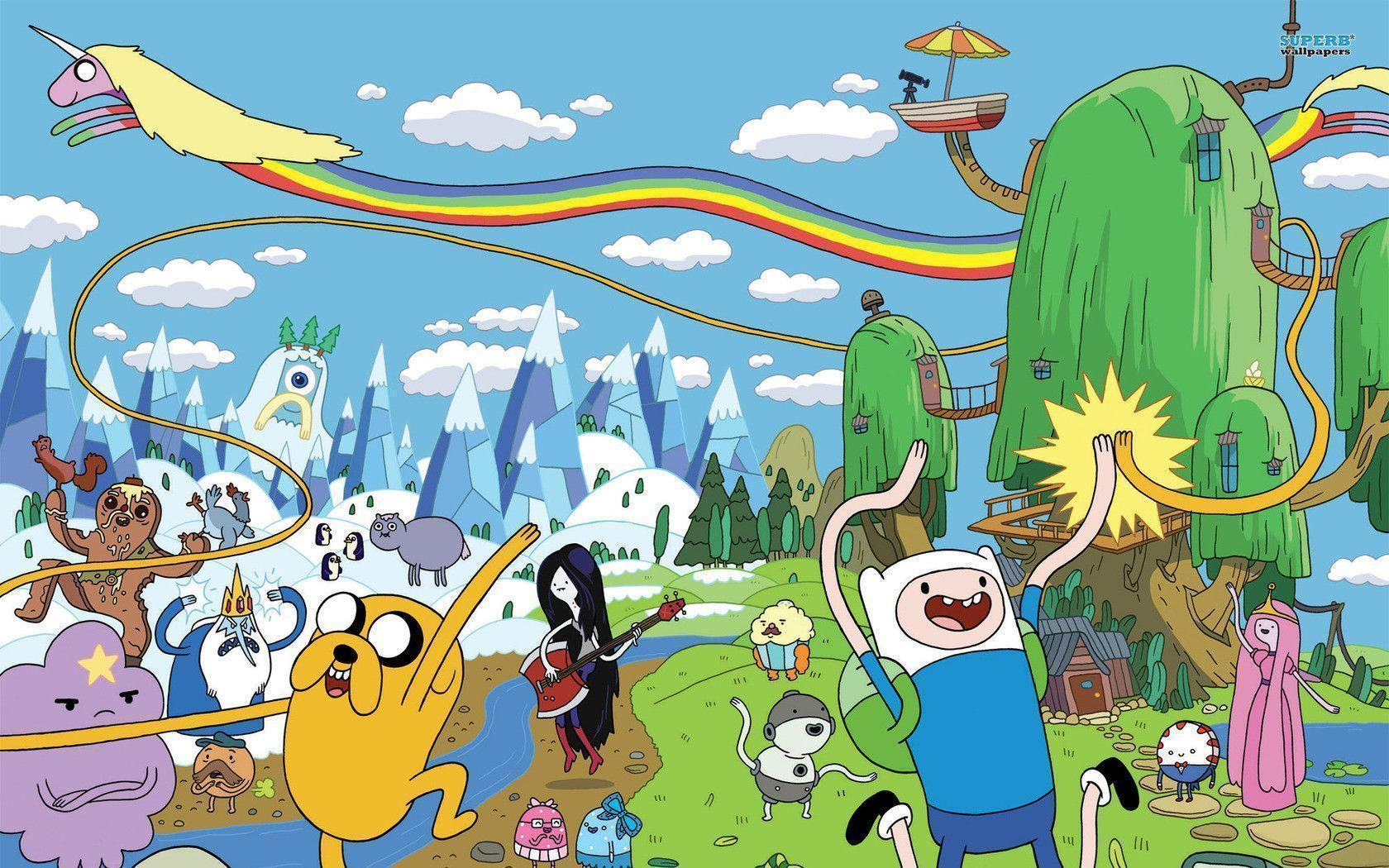 Adventure Time Desktop Backgrounds Wallpaper Cave