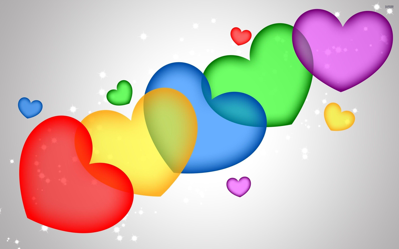 Colorful desktop wallpapers love