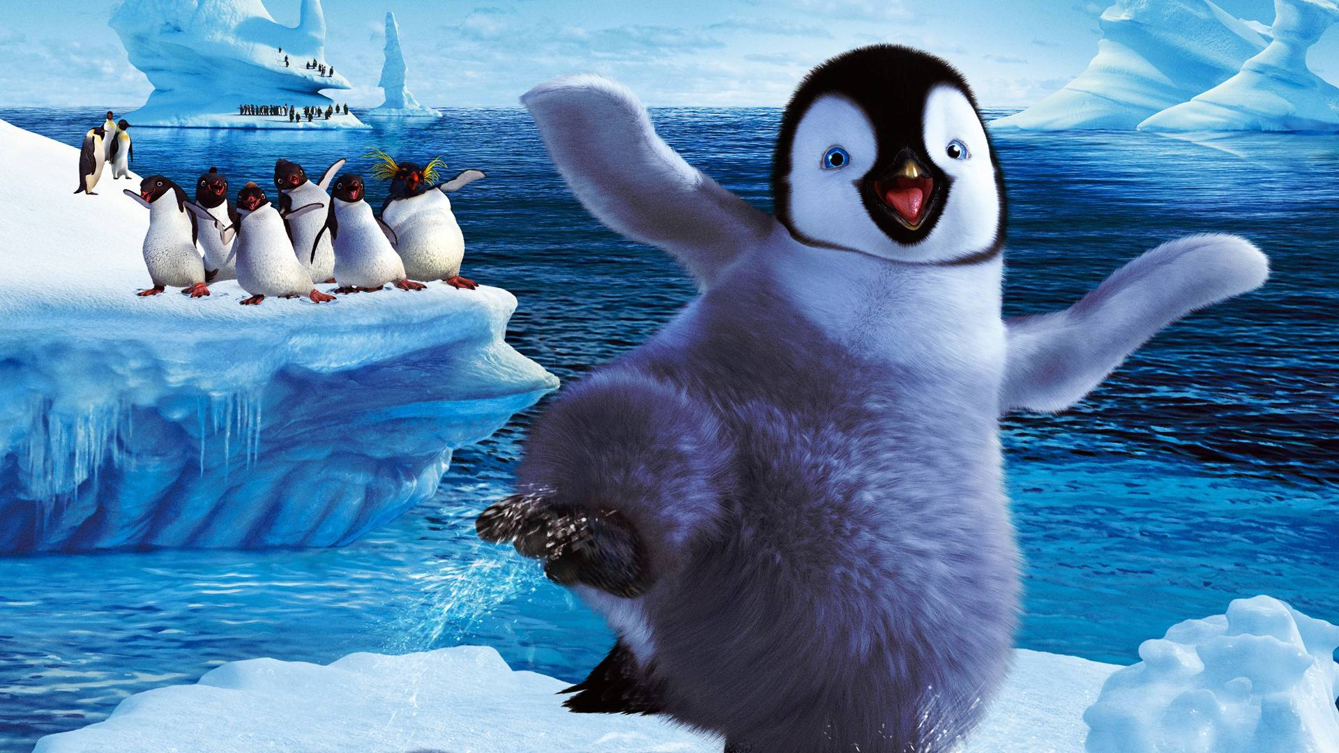 Happy Feet Wallpapers Wallpaper Cave
