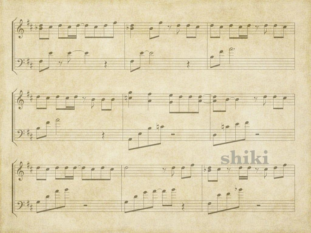 sheet music 2 wallpaper - photo #12