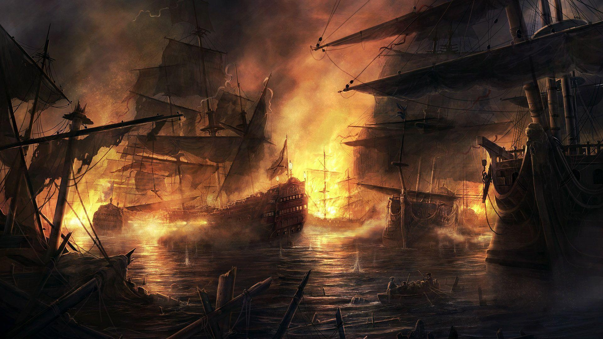 pirate ship computer wallpapers - photo #13