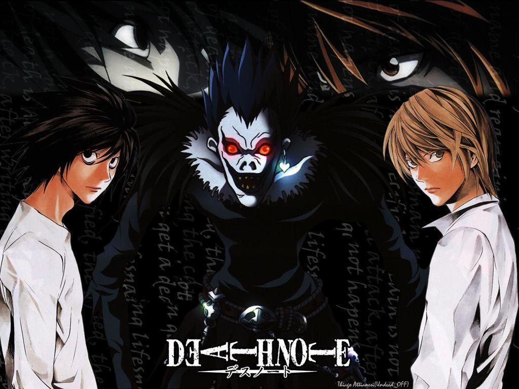 Download Walls Animes Death Note Wallpaper 1024x768 | Full HD ...