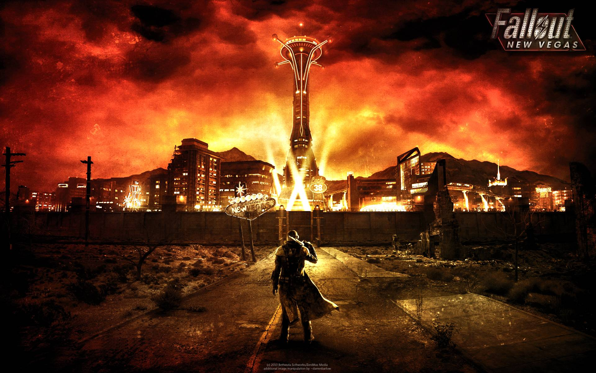Fallout New Vegas Backgrounds