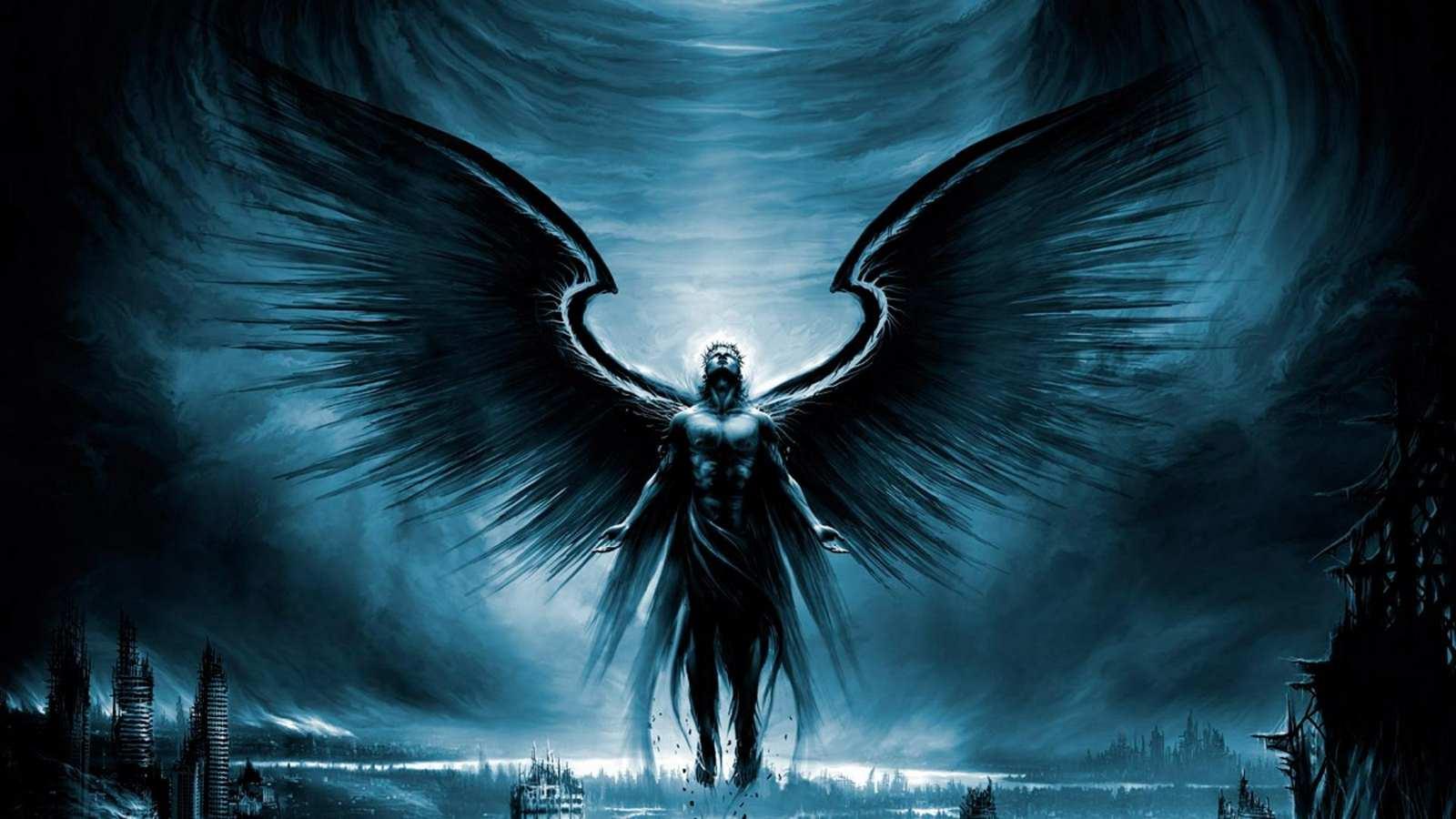 Hd wallpaper cave - 1080p Desktop The Dark Angel Pc Desktop Hd Wallpaper P The