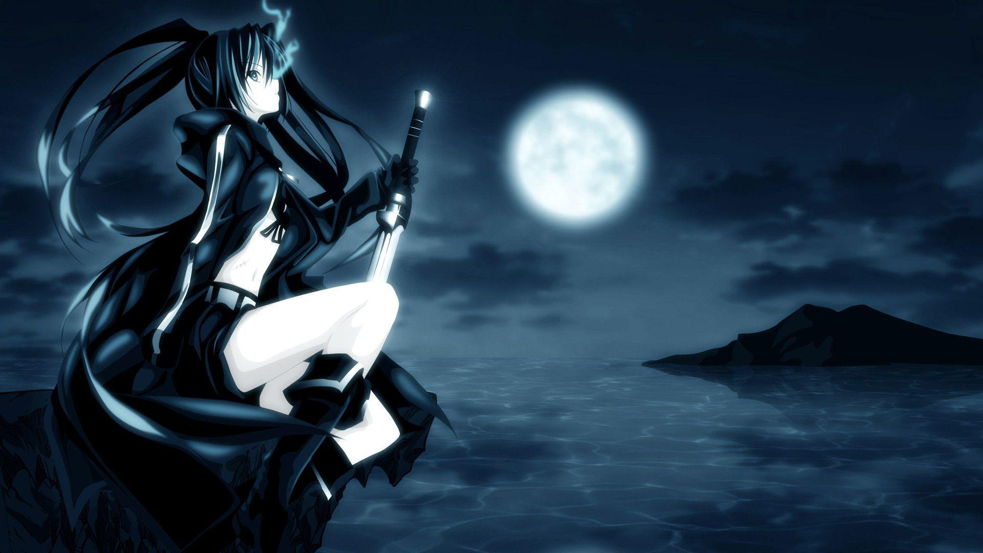 Black Rock Shooter 1920x1200 Anime Wallpaper - #
