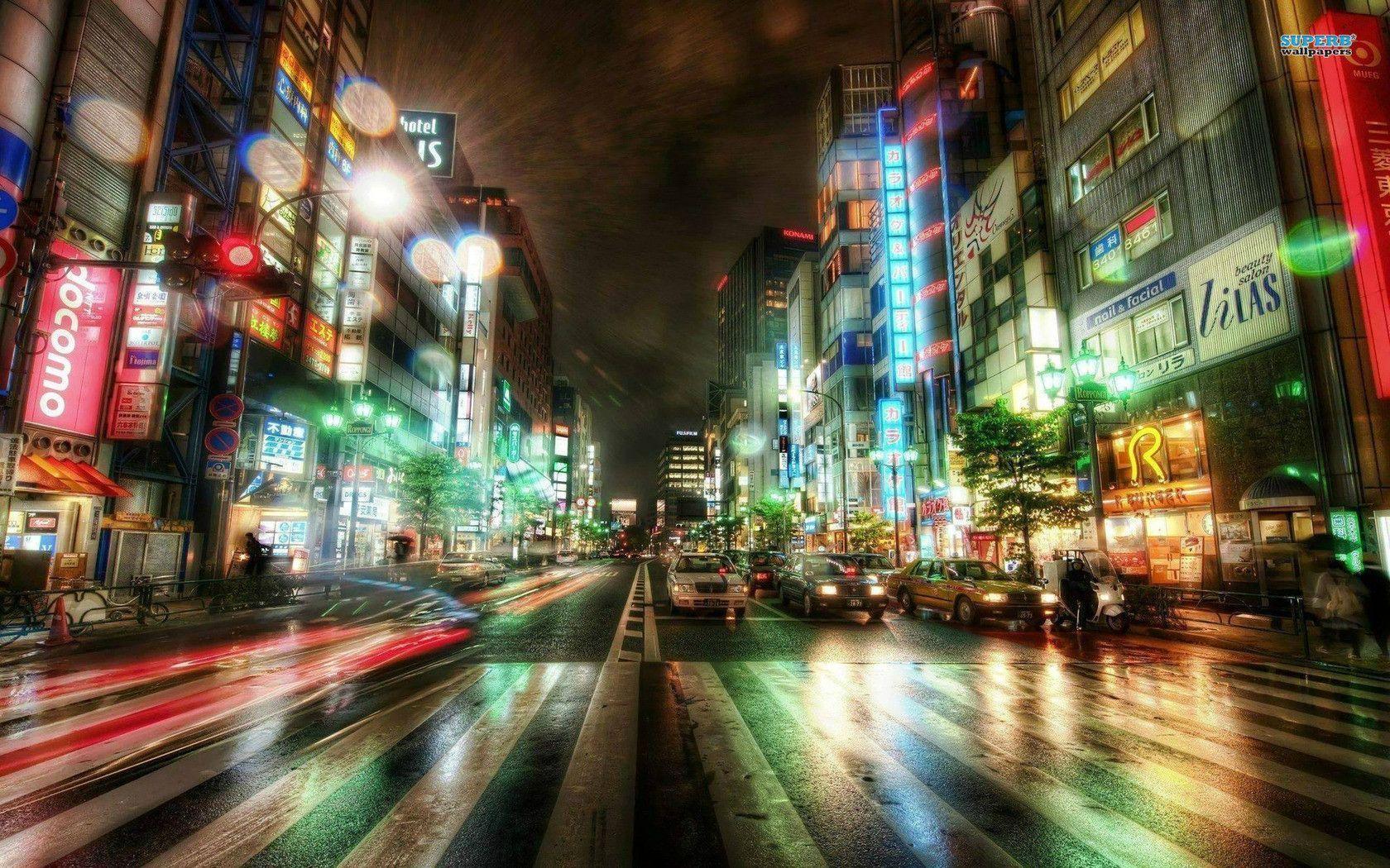 Tokyo City HD Wallpapers - HD Wallpapers Inn