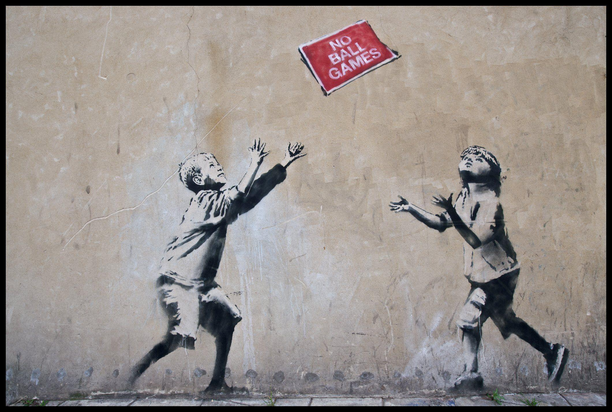 Banksy HD Wallpapers - Wallpaper Cave