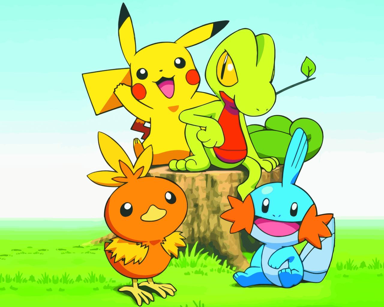 Pokemon Pikachu Wallpapers Wallpaper Cave