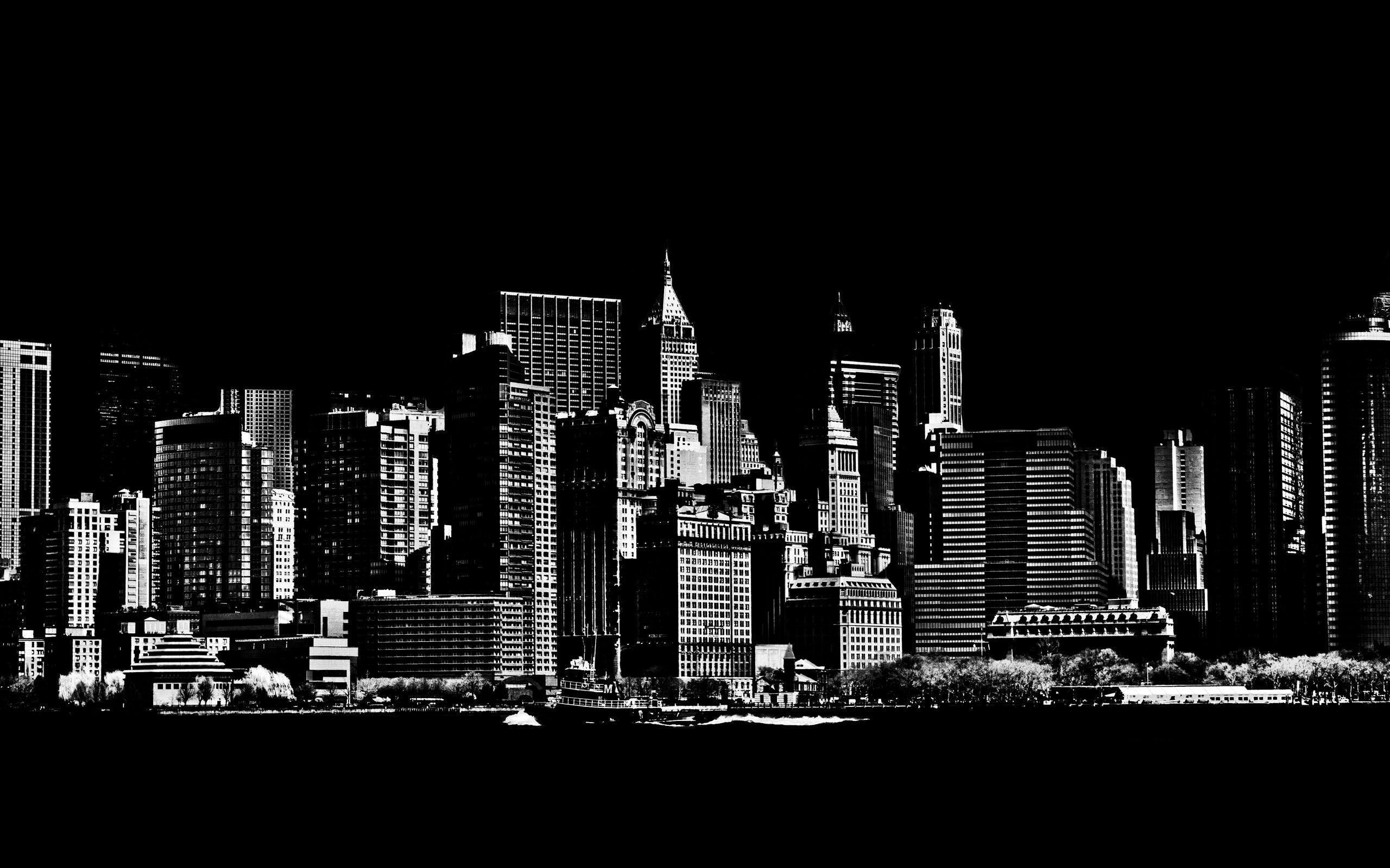 New york city image wallpapers wallpaper cave for Black and white new york mural wallpaper