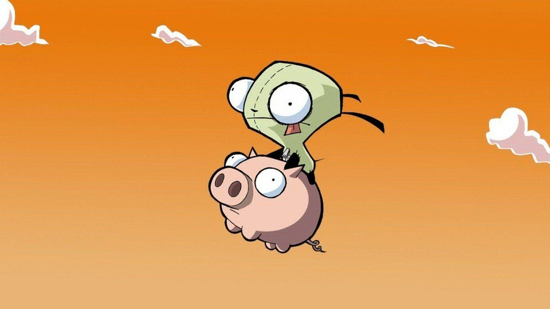 invader zim gir wallpapers wallpaper cave