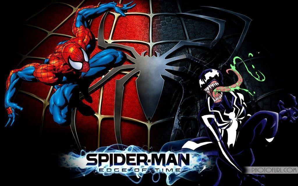 Spiderman cartoon wallpapers wallpaper cave - Moving spider desktop ...