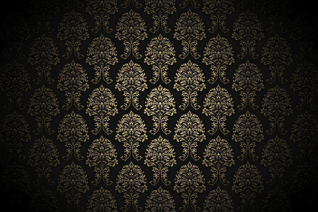 Black Wall Paper Decor : Black and gold backgrounds wallpaper cave