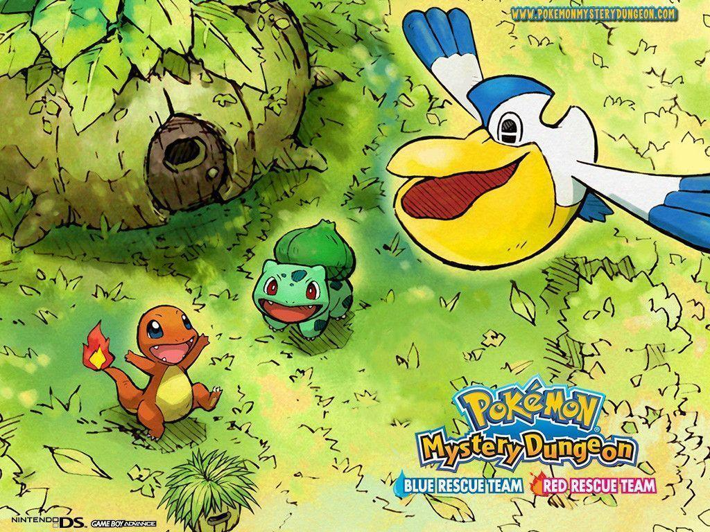 Latest Screens : Pokemon Mystery Dungeon: Blue Rescue Team Wallpapers