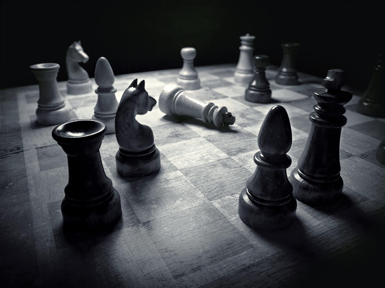 Black and White Chess wallpapers
