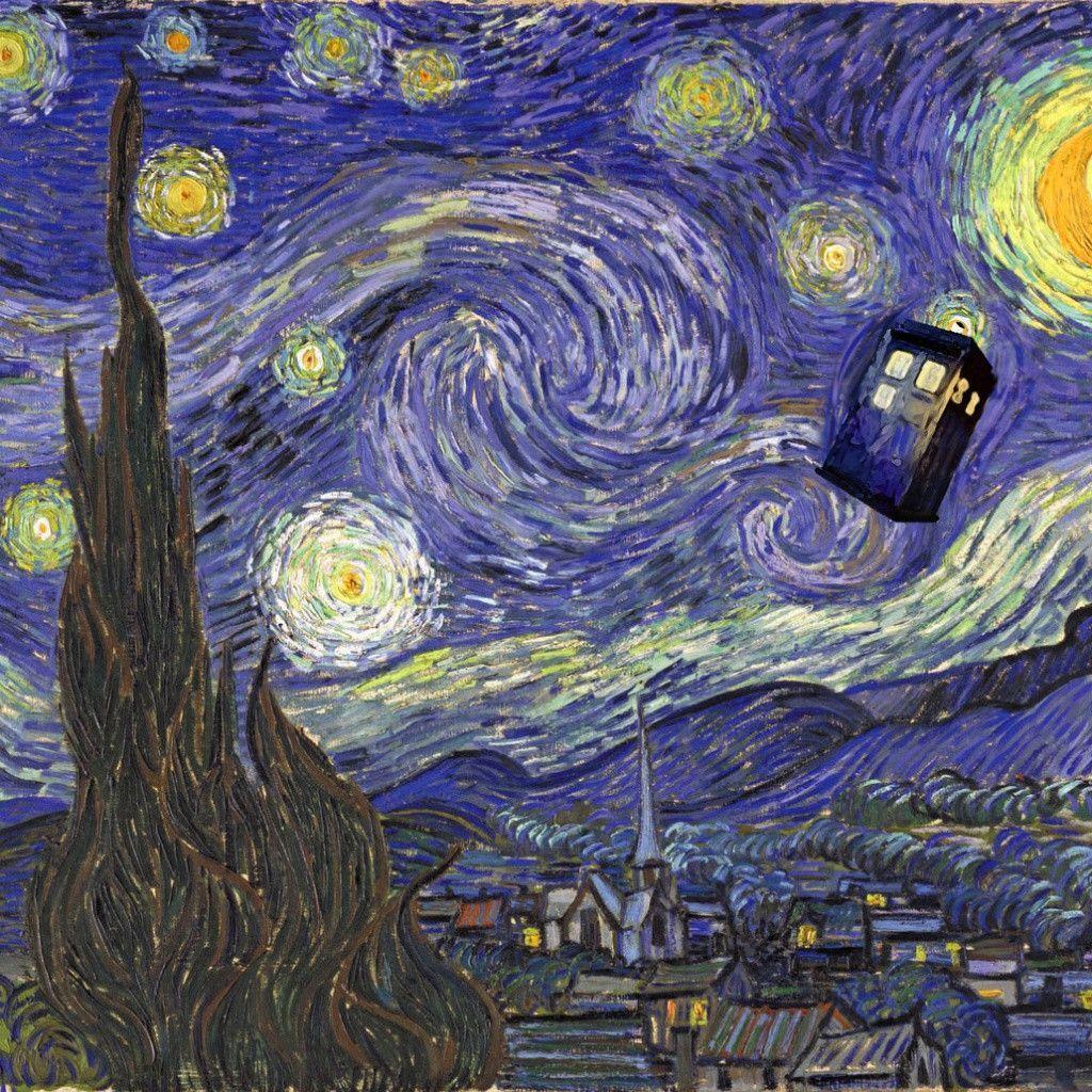 Van Gogh Wallpaper: Doctor Who Phone Wallpapers