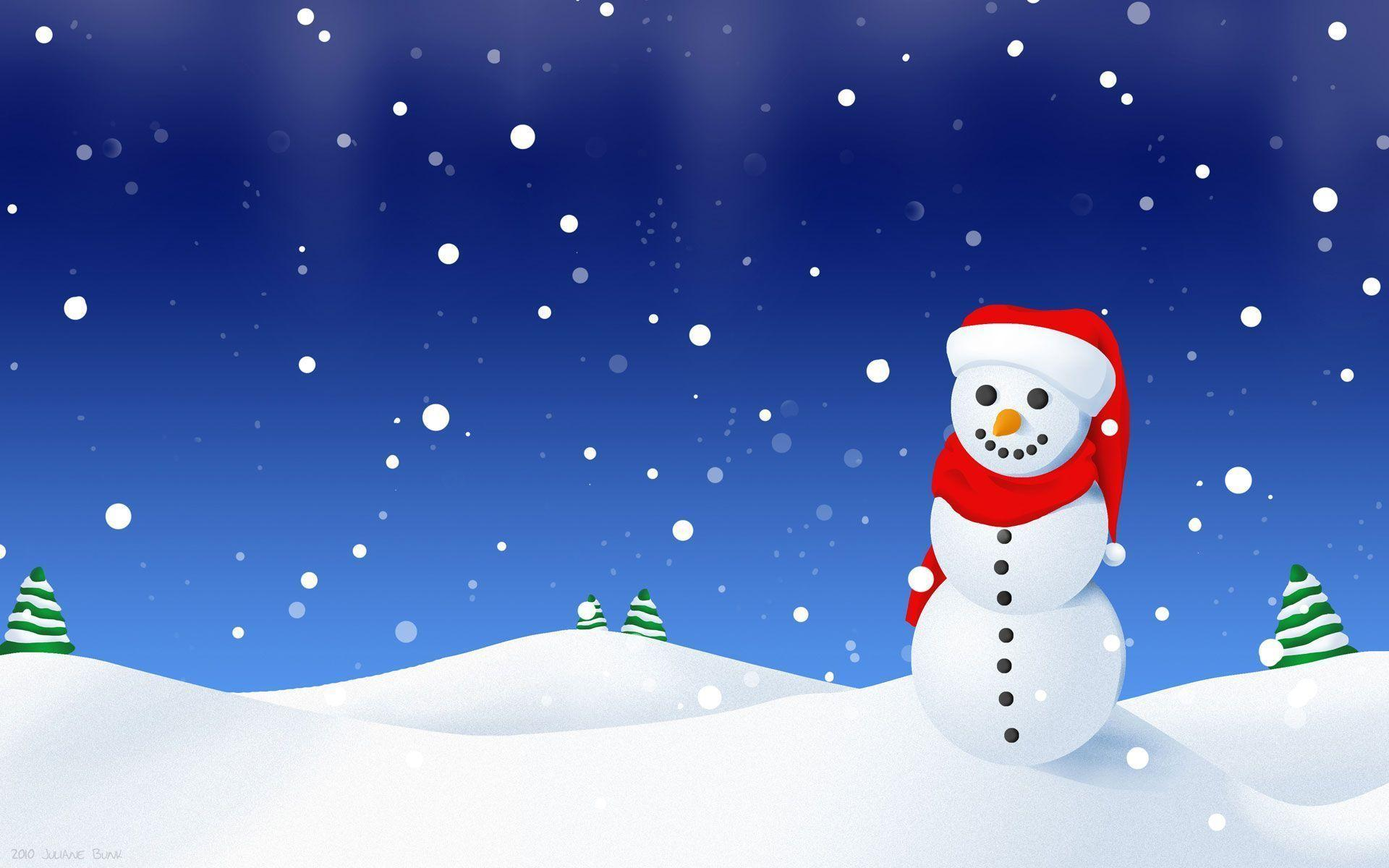snowman family wallpaper - photo #13
