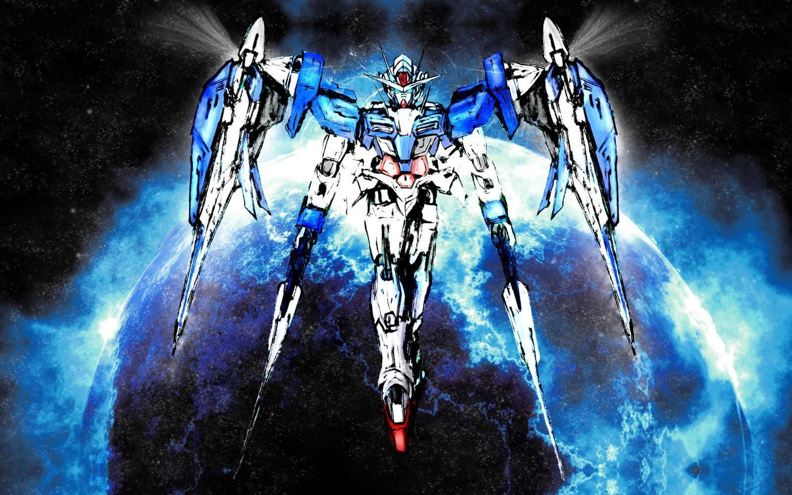 Gundam 00 hd wallpapers wallpaper cave - Gundam wallpaper hd ...