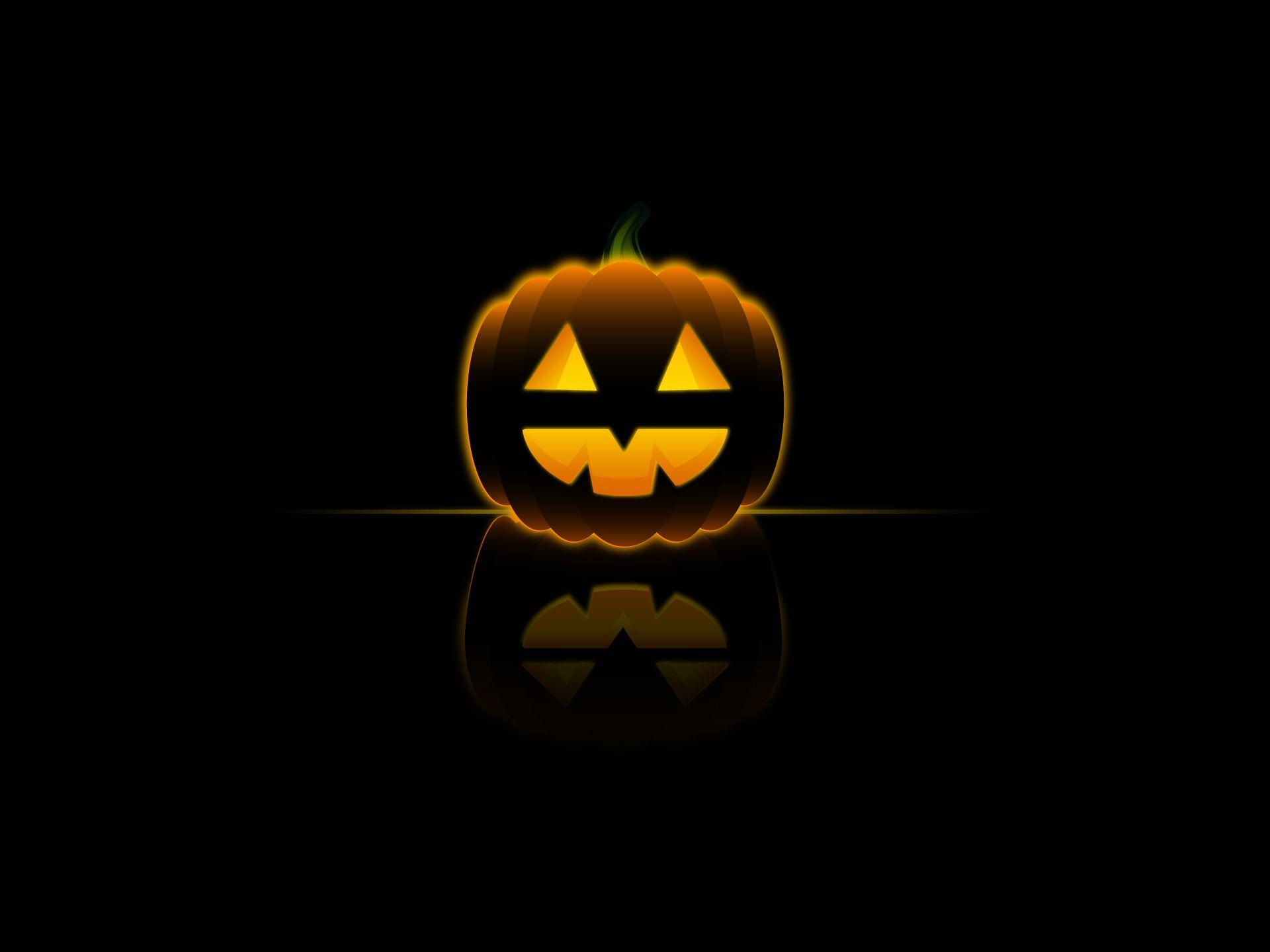 Wallpapers For > Halloween Pumpkin Backgrounds Desktop