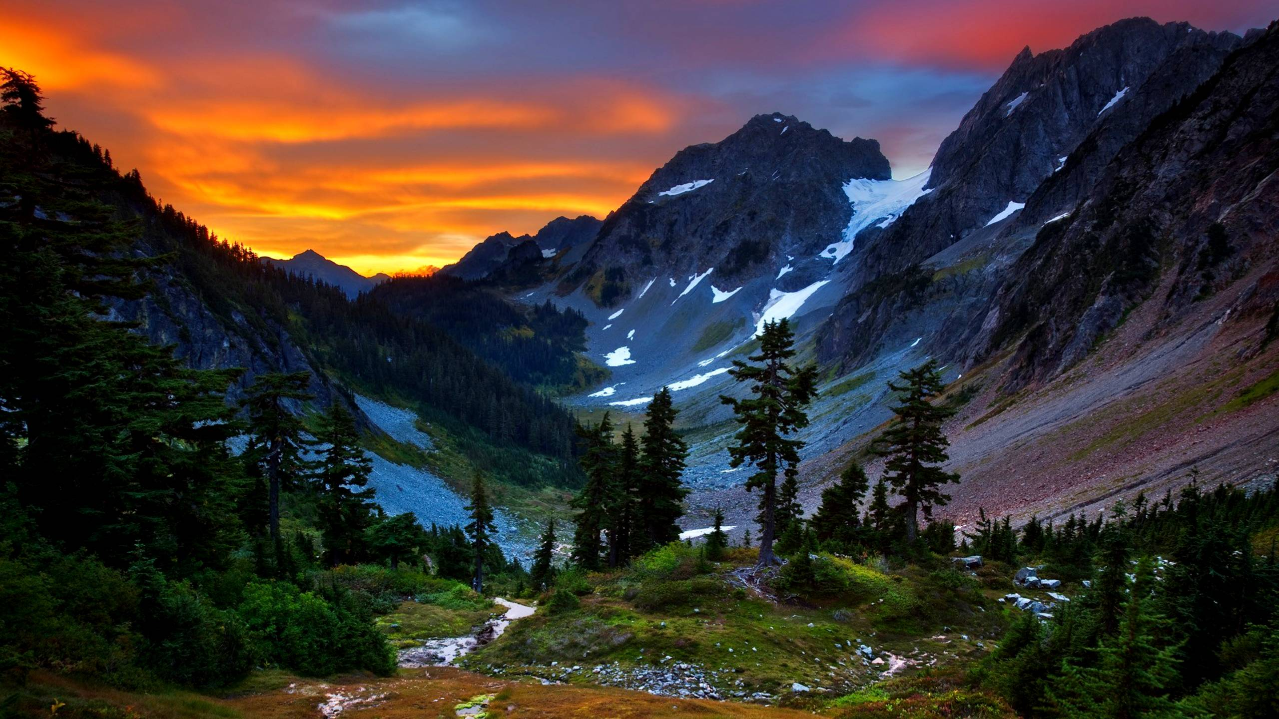 mountain screensavers and wallpaper backgrounds - photo #9