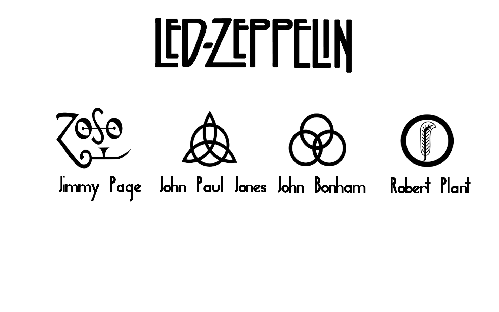 Images Of Led Zeppelin Symbols Spacehero