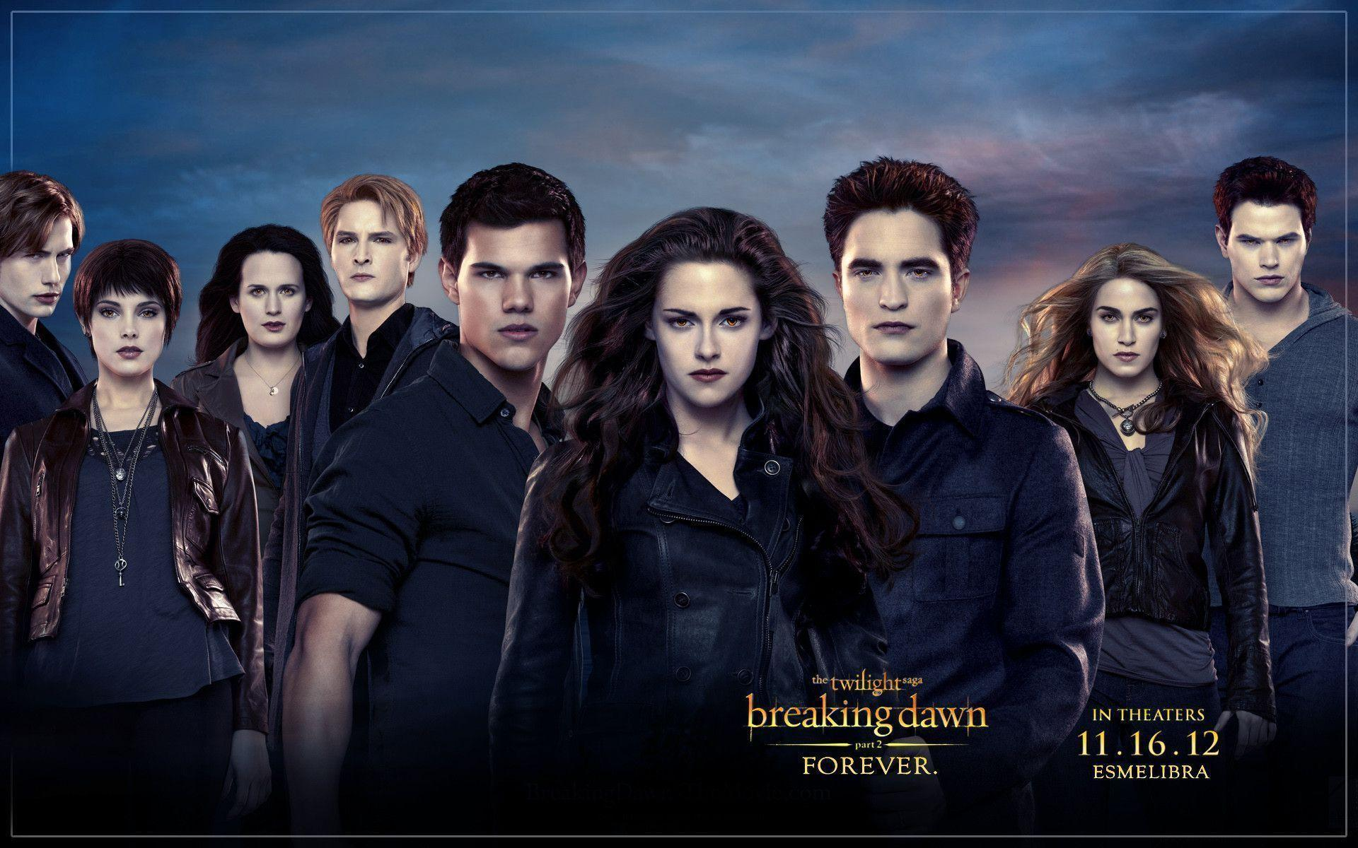 Twilight Breaking Dawn Wallpapers Wallpaper Cave