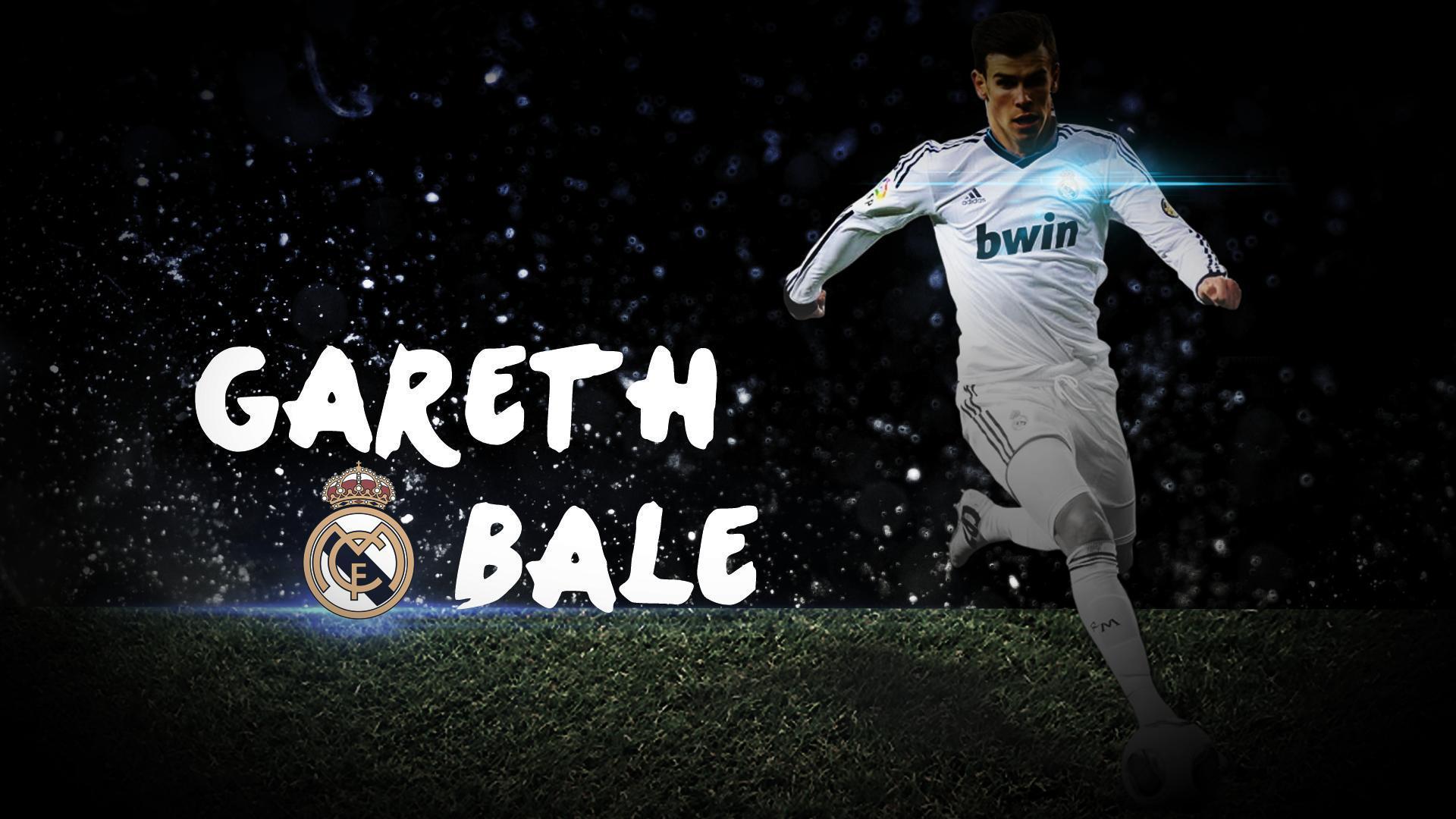 Real Madrid Top Player Gareth Bale Wallpaper 2014