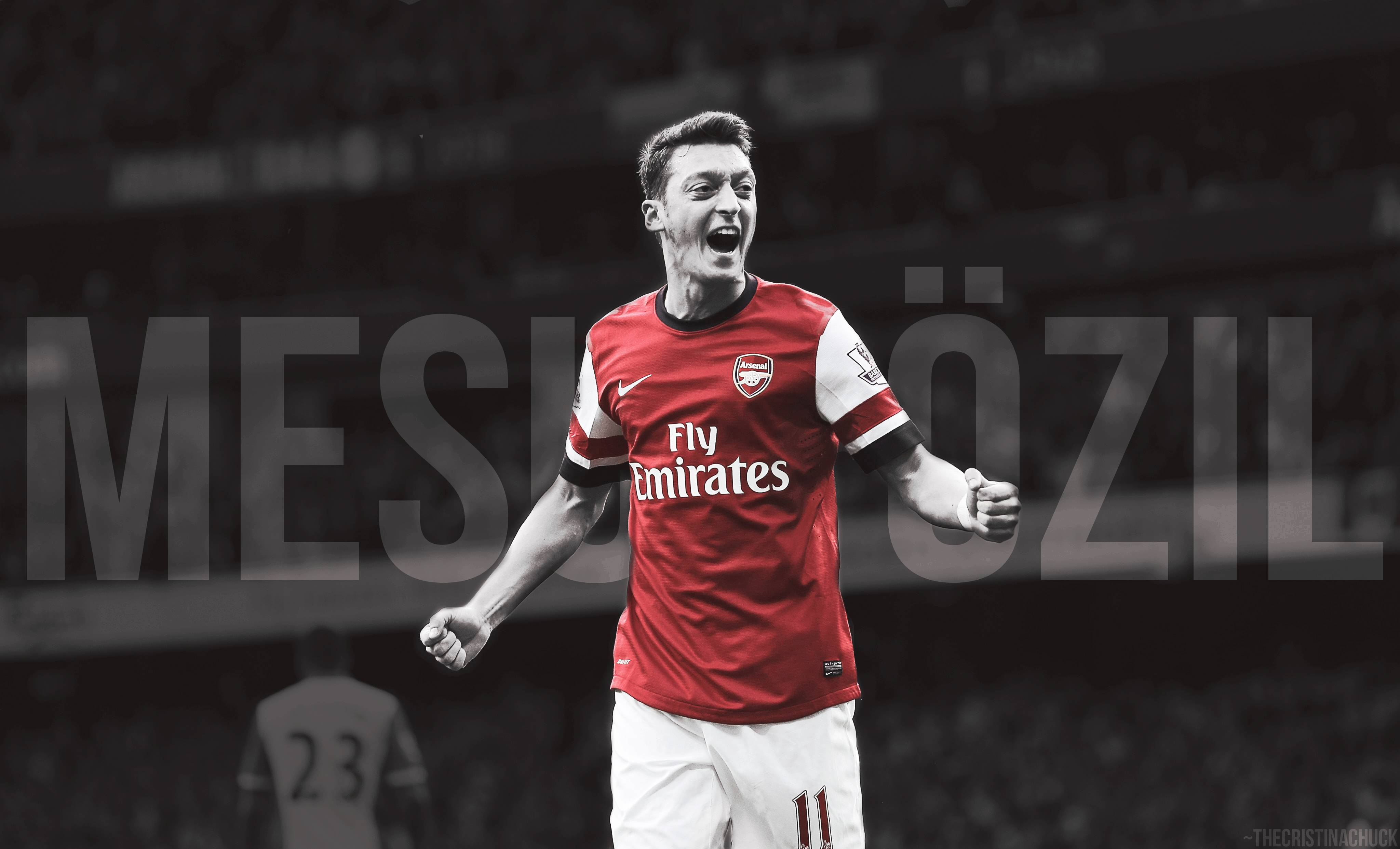 Mesut Ozil Arsenal Goal Wallpapers HD, Wallpaper, Mesut Ozil