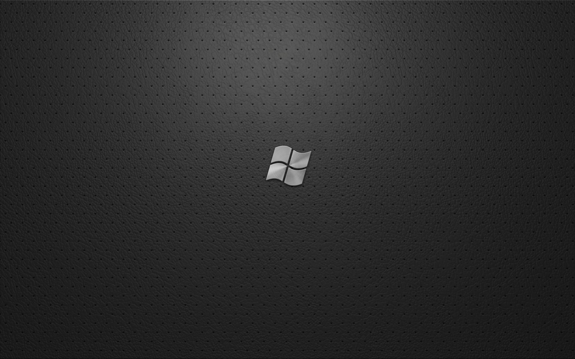 Windows 7 black wallpapers wallpaper cave for High quality windows
