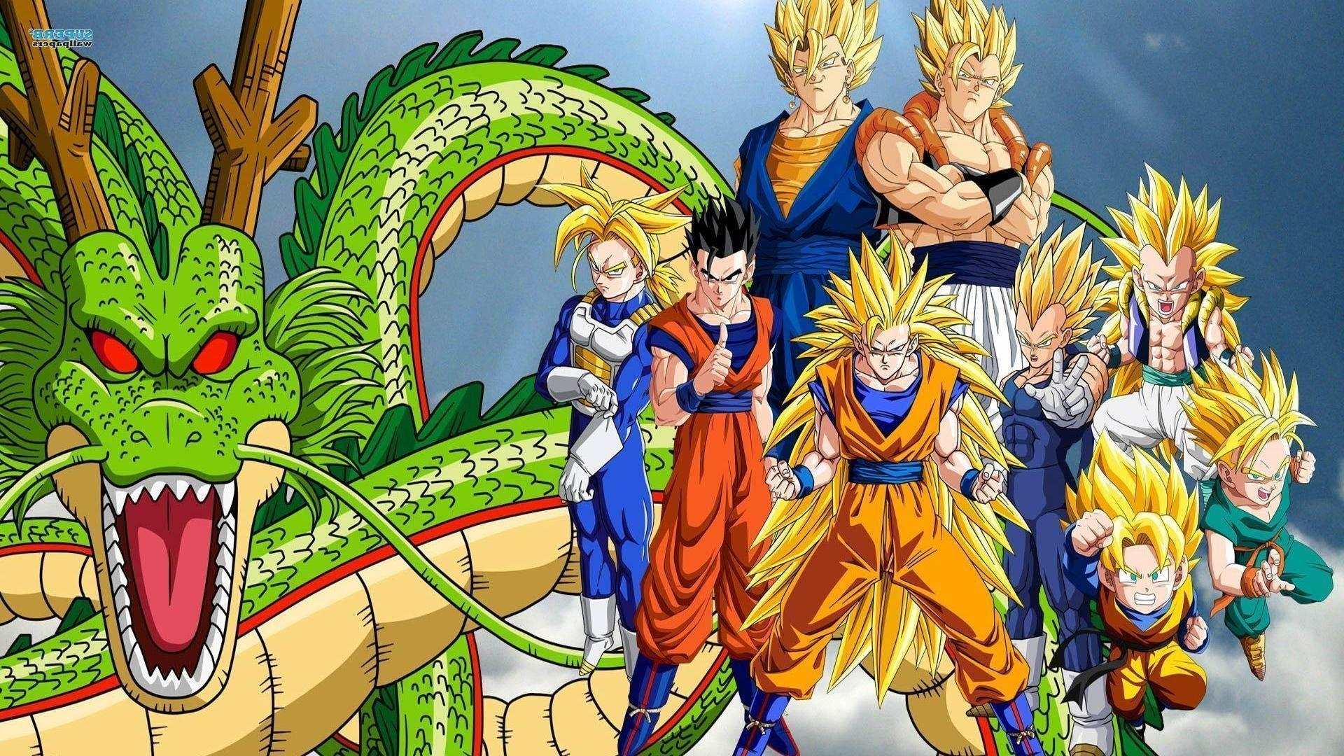 Cool dragon ball z wallpapers wallpaper cave for Portefeuille dragon ball z