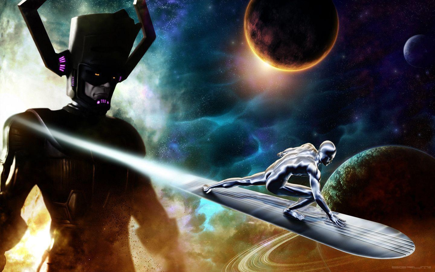 Silver Surfer Computer Wallpapers, Desktop Backgrounds 1440x900 Id