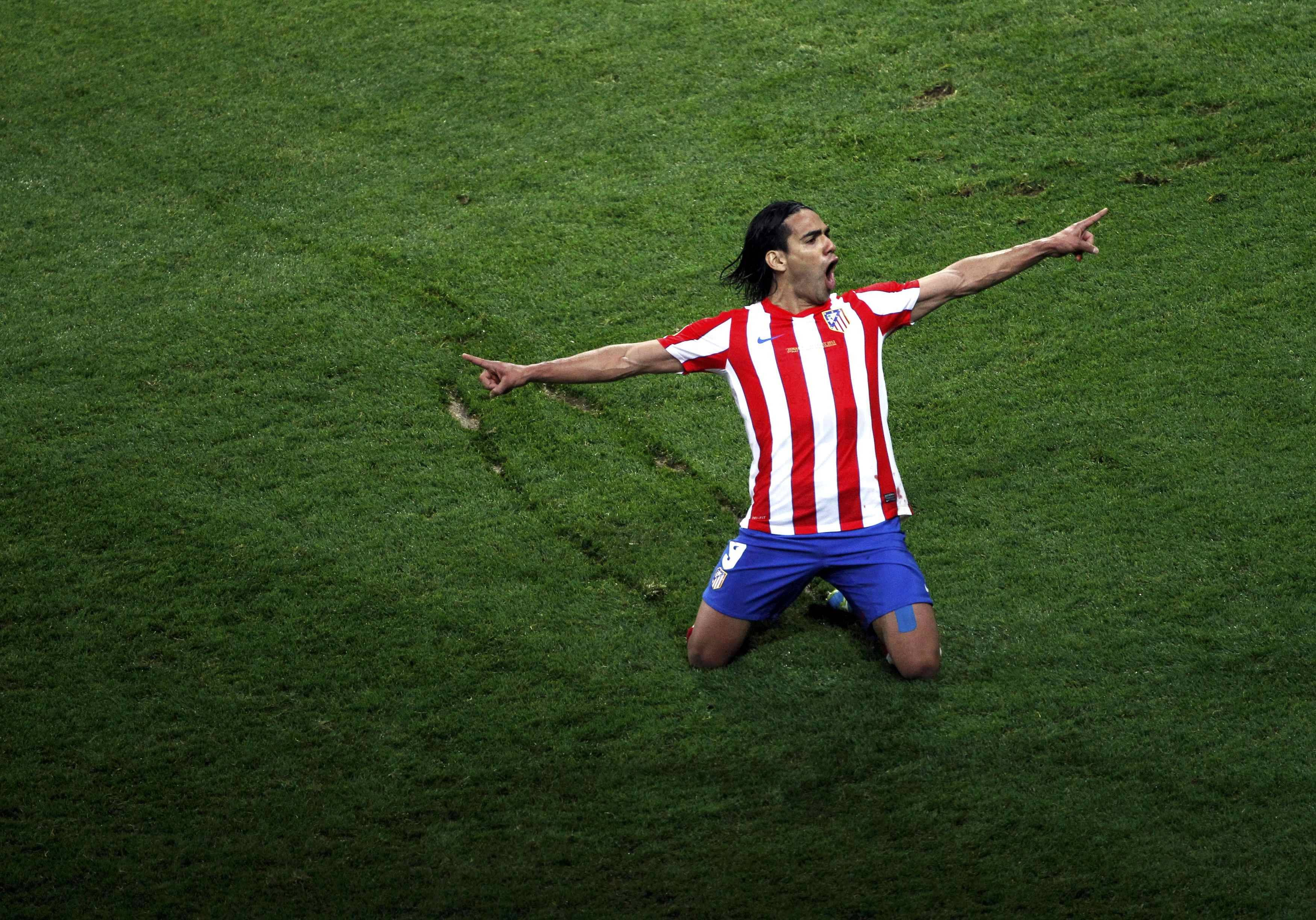 Radamel Falcao Atletico Madrid 2013 HD Best Wallpaper | Football ...