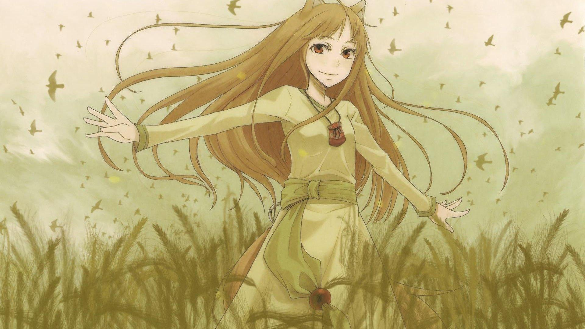 Horo Spice And Wolf Wallpaper x ID