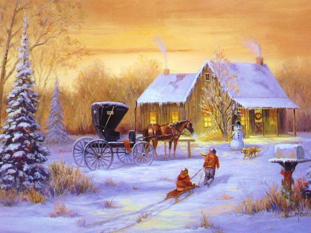 free wallpaper christmas scenes - photo #18
