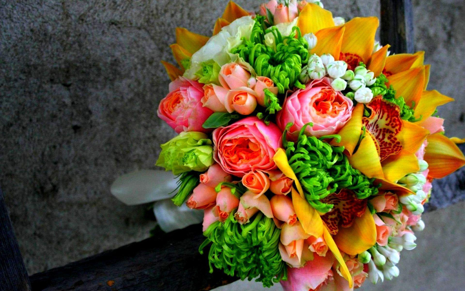 Flower bouquet wallpapers wallpaper cave - Bunch of roses hd images ...