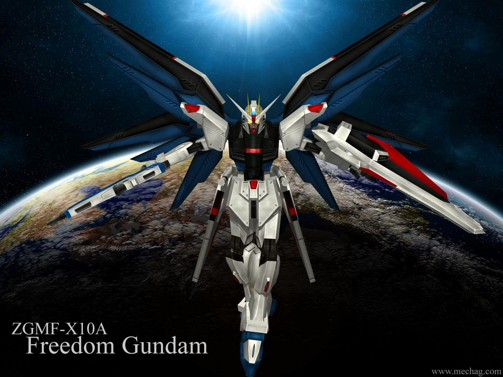 Wallpapers For > Gundam Seed Freedom Wallpaper
