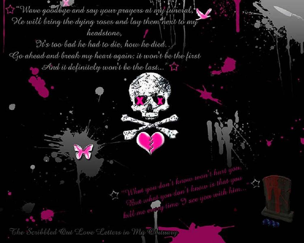 pink skull wallpapers wallpaper cave